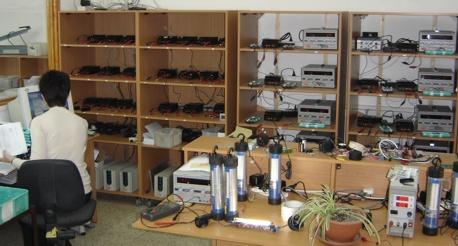 Bulk Battery Testing at Amit